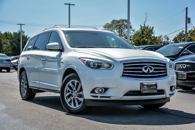 Certified Pre-Owned 2015 INFINITI QX60 Hybrid Base